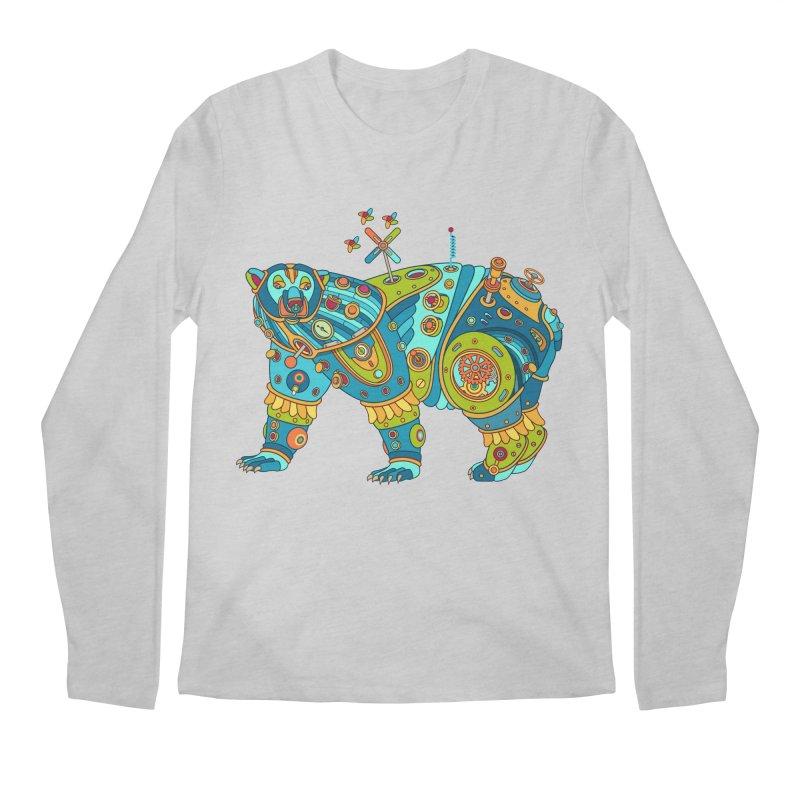 Polar Bear, cool art from the AlphaPod Collection Men's Regular Longsleeve T-Shirt by AlphaPod