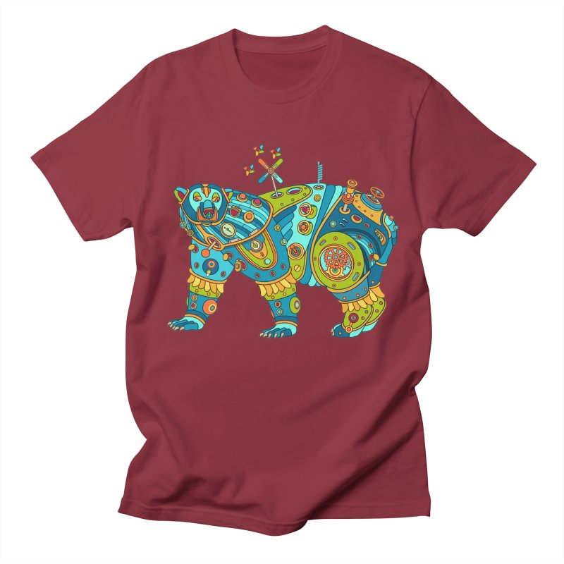 Polar Bear, cool art from the AlphaPod Collection Women's Regular Unisex T-Shirt by AlphaPod