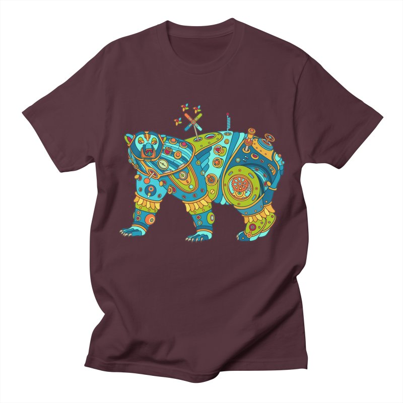 Polar Bear, cool art from the AlphaPod Collection Men's Regular T-Shirt by AlphaPod