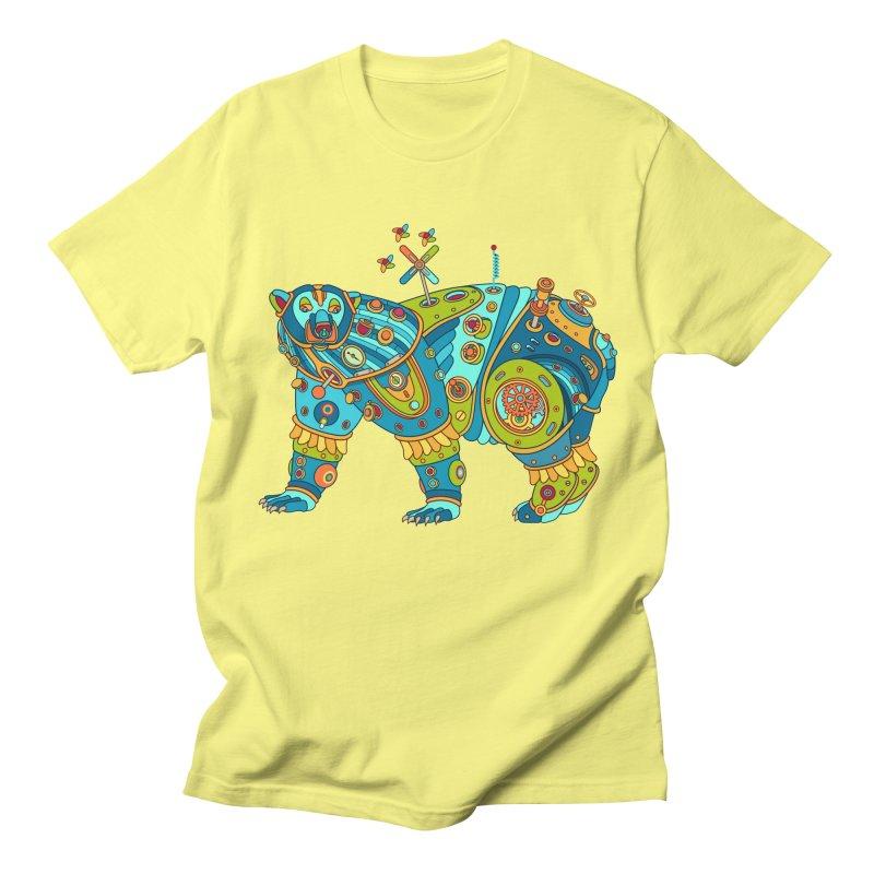 Polar Bear, cool art from the AlphaPod Collection Men's Regular T-Shirt by AlphaPod
