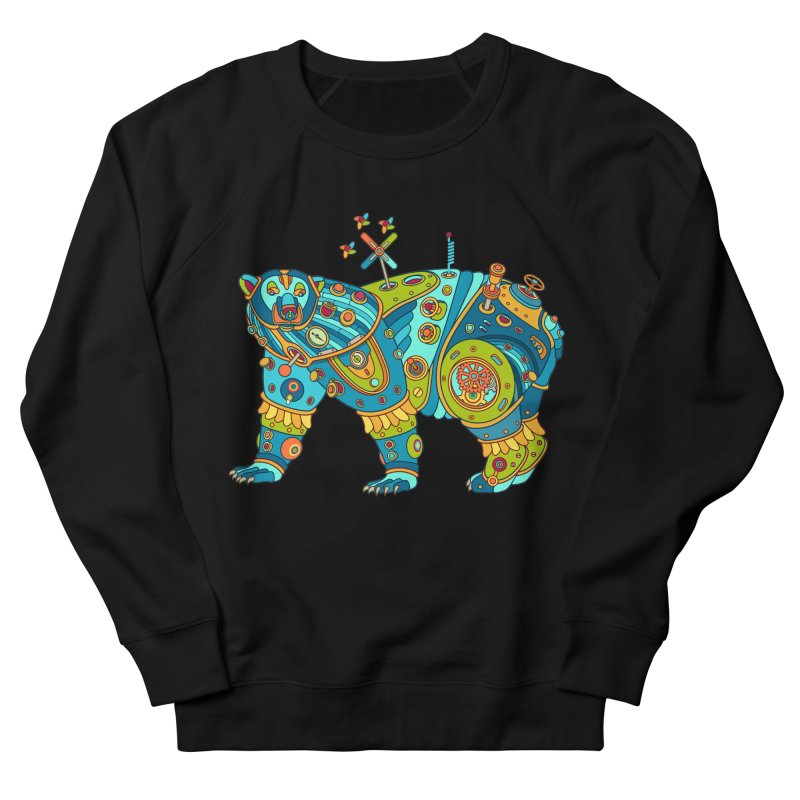 Polar Bear, cool art from the AlphaPod Collection Women's French Terry Sweatshirt by AlphaPod