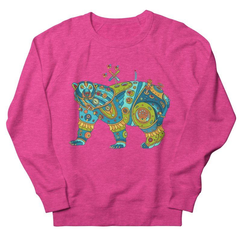 Polar Bear, cool art from the AlphaPod Collection Men's French Terry Sweatshirt by AlphaPod