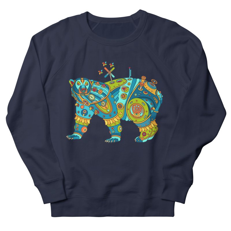 Polar Bear, cool art from the AlphaPod Collection Men's Sweatshirt by AlphaPod