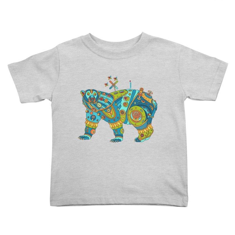 Polar Bear, cool art from the AlphaPod Collection Kids Toddler T-Shirt by AlphaPod