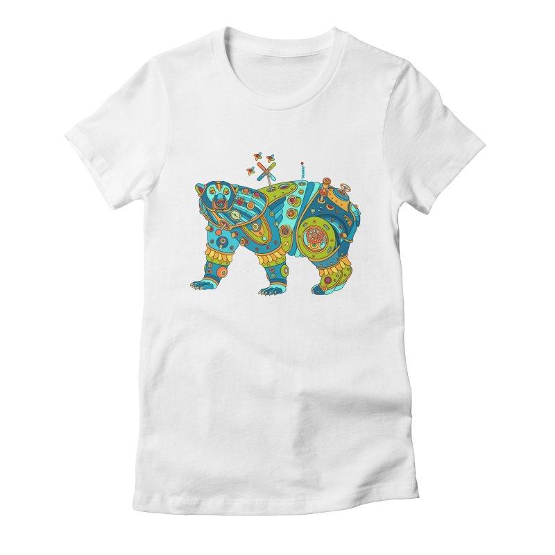 Polar Bear, cool art from the AlphaPod Collection Women's T-Shirt by AlphaPod