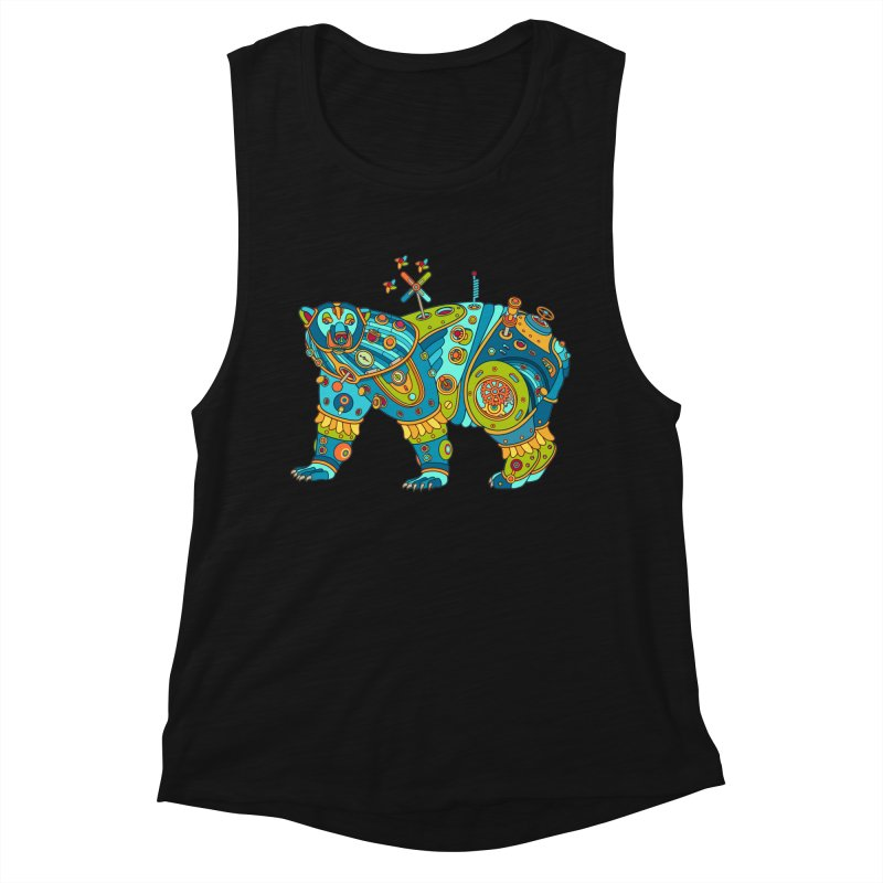 Polar Bear, cool art from the AlphaPod Collection Women's Tank by AlphaPod