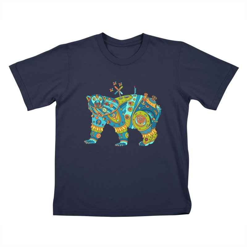 Polar Bear, cool art from the AlphaPod Collection Kids T-Shirt by AlphaPod