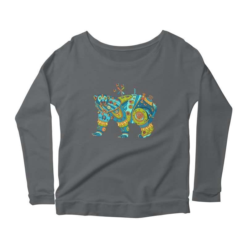Polar Bear, cool art from the AlphaPod Collection Women's Longsleeve T-Shirt by AlphaPod
