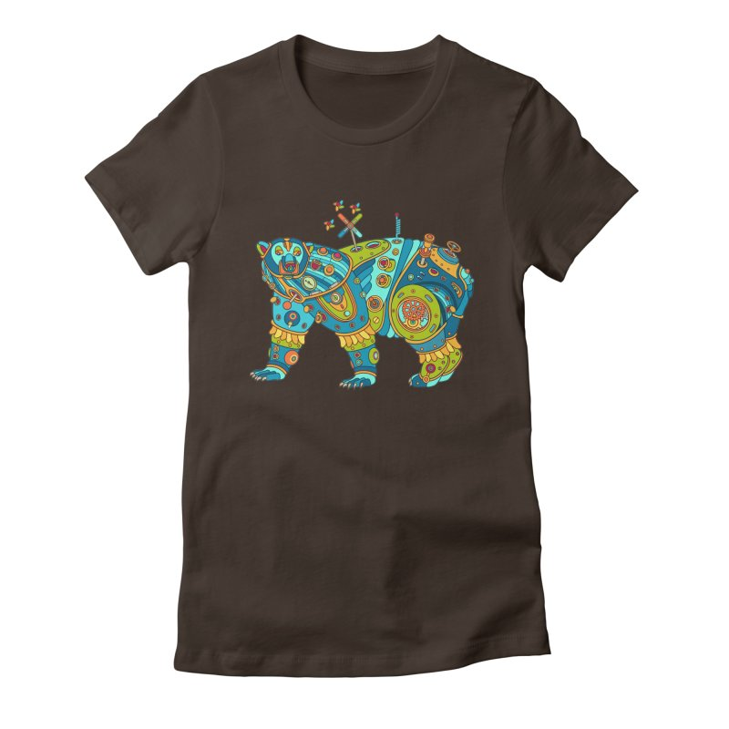 Polar Bear, cool art from the AlphaPod Collection Women's T-Shirt by AlphaPod