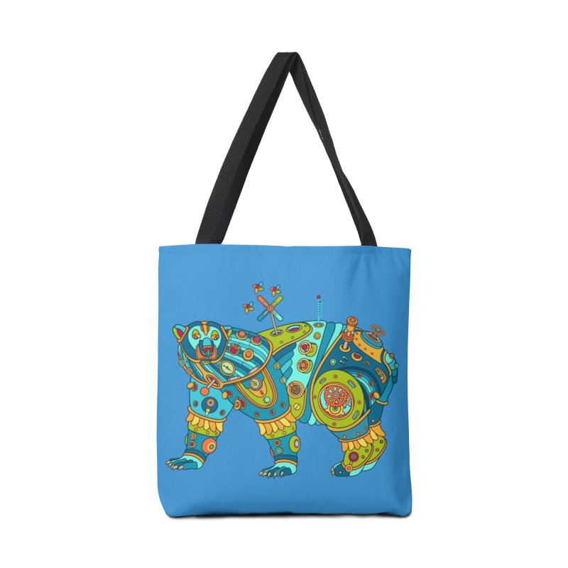 Polar Bear, cool art from the AlphaPod Collection Accessories Bag by AlphaPod