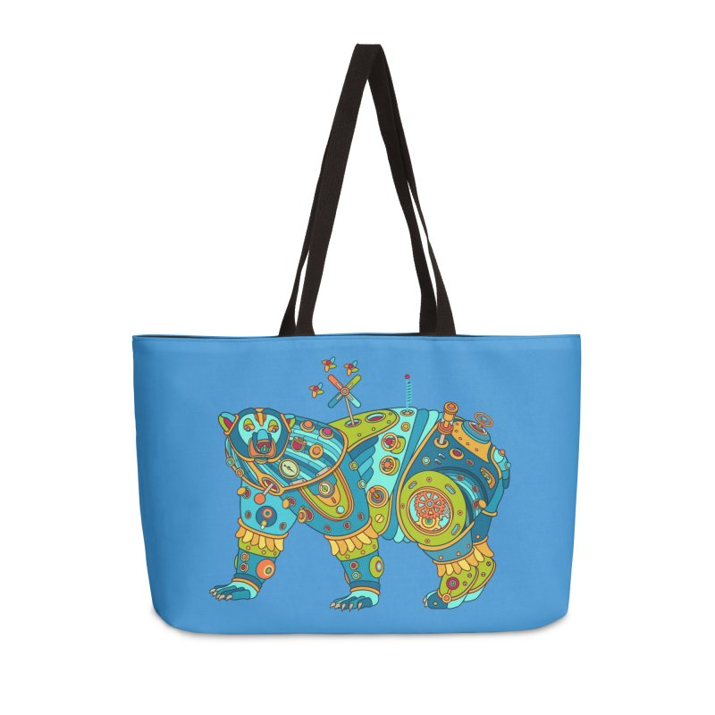 Polar Bear, cool art from the AlphaPod Collection Accessories Weekender Bag Bag by AlphaPod