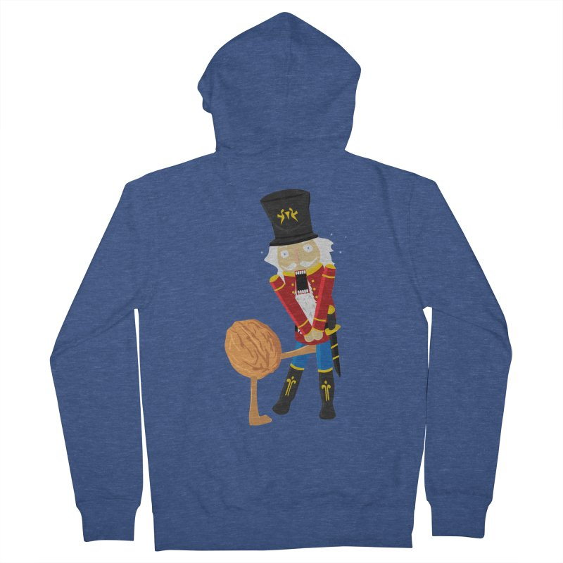 The Nutcracker Men's French Terry Zip-Up Hoody by Alpha Ryan's Artist Shop