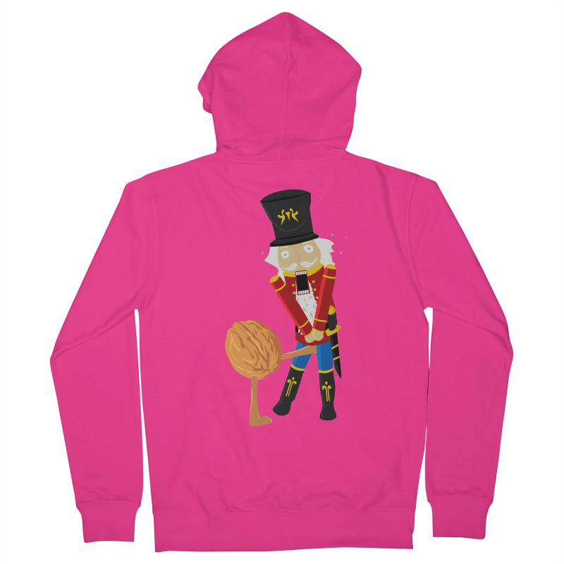 The Nutcracker Men's French Terry Zip-Up Hoody by Alpha Ryan's Artist Shop