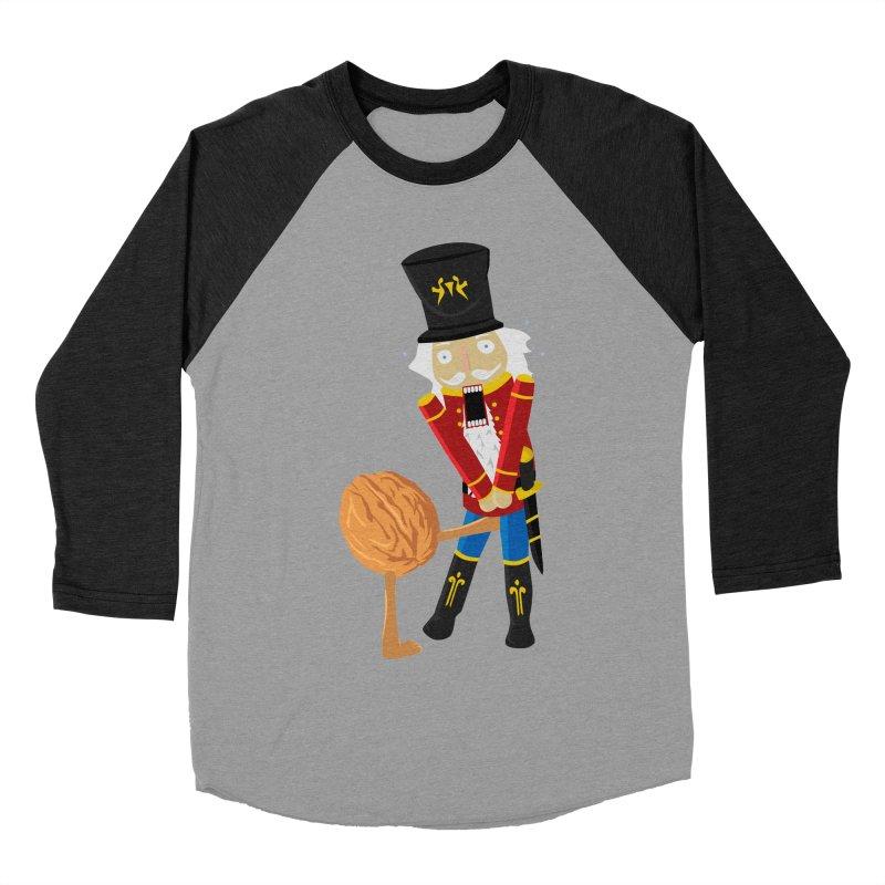 The Nutcracker Men's Baseball Triblend Longsleeve T-Shirt by Alpha Ryan's Artist Shop