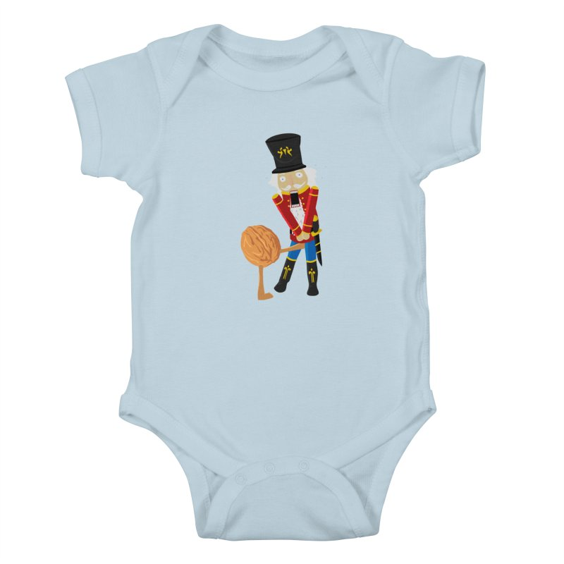 The Nutcracker Kids Baby Bodysuit by Alpha Ryan's Artist Shop