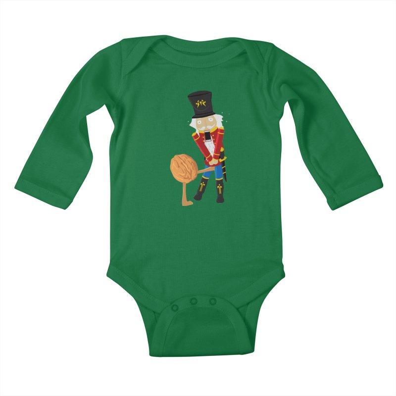 The Nutcracker Kids Baby Longsleeve Bodysuit by Alpha Ryan's Artist Shop