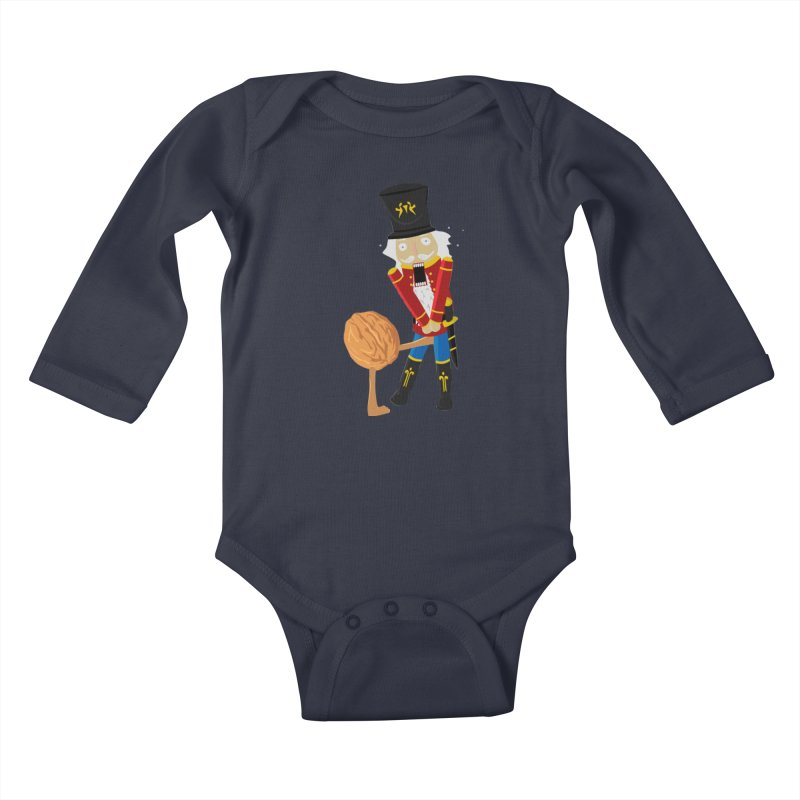 The Nutcracker Kids Baby Longsleeve Bodysuit by Alpha Ryan's Artist Shop