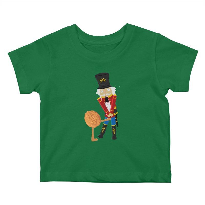 The Nutcracker Kids Baby T-Shirt by Alpha Ryan's Artist Shop