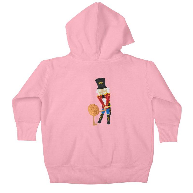 The Nutcracker Kids Baby Zip-Up Hoody by Alpha Ryan's Artist Shop