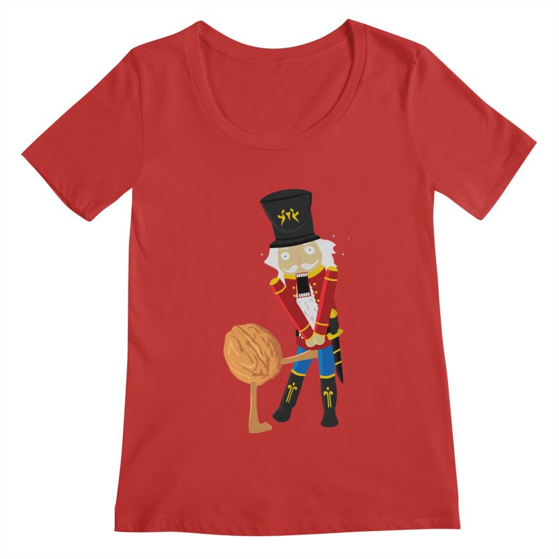 The Nutcracker Women's Regular Scoop Neck by Alpha Ryan's Artist Shop