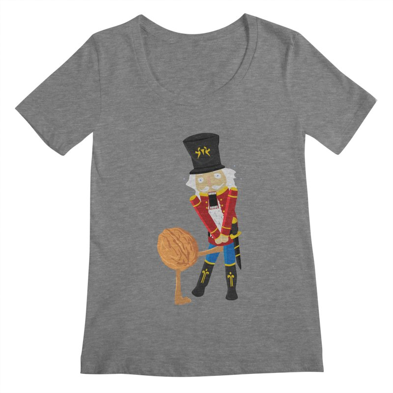 The Nutcracker Women's Scoopneck by Alpha Ryan's Artist Shop