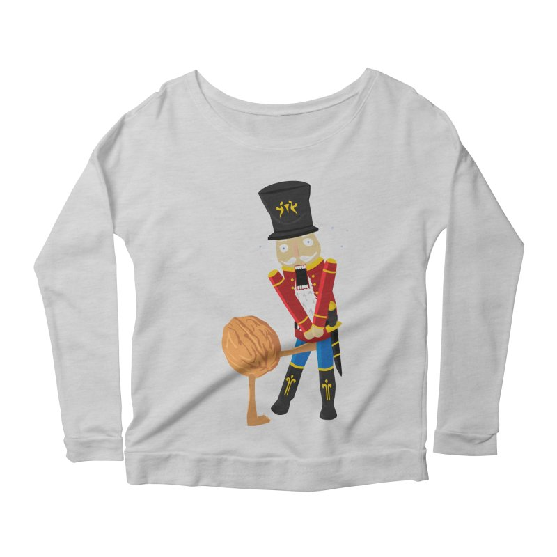 The Nutcracker Women's Longsleeve Scoopneck  by Alpha Ryan's Artist Shop