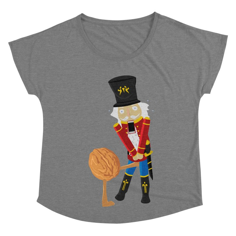 The Nutcracker Women's Scoop Neck by Alpha Ryan's Artist Shop