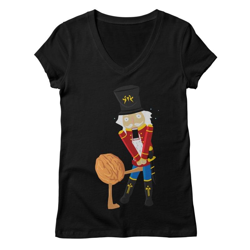 The Nutcracker Women's V-Neck by Alpha Ryan's Artist Shop