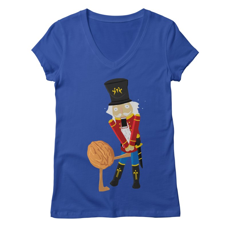 The Nutcracker Women's Regular V-Neck by Alpha Ryan's Artist Shop