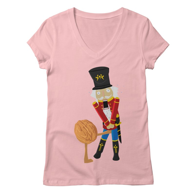 The Nutcracker Women's V-Neck by Alpha Ryan's Artist Shop