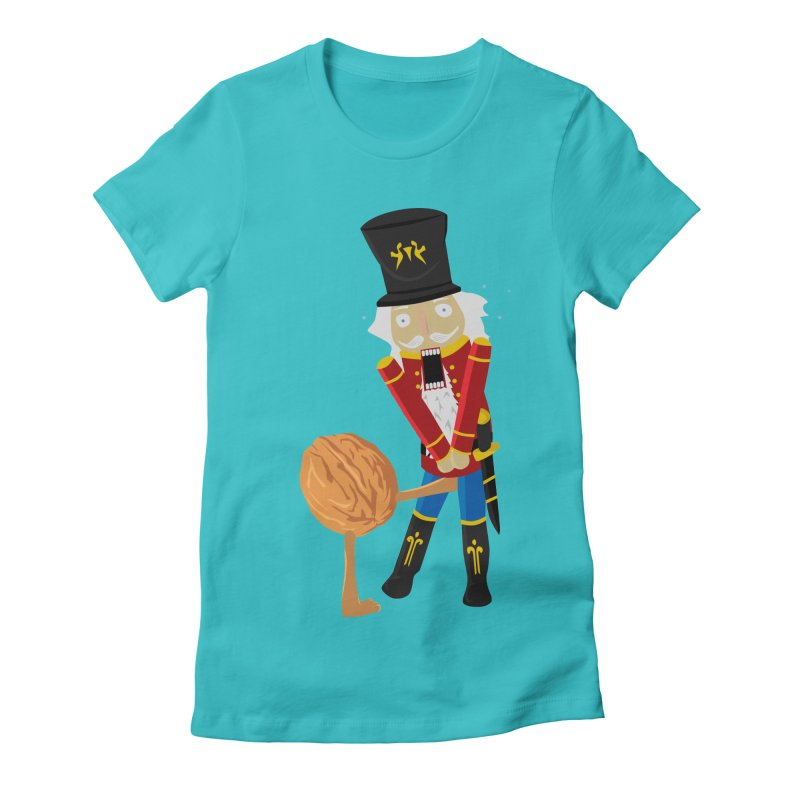 The Nutcracker Women's Fitted T-Shirt by Alpha Ryan's Artist Shop