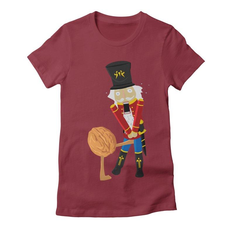 The Nutcracker Women's Fitted T-Shirt by Alpha Ryan's Artist Shop