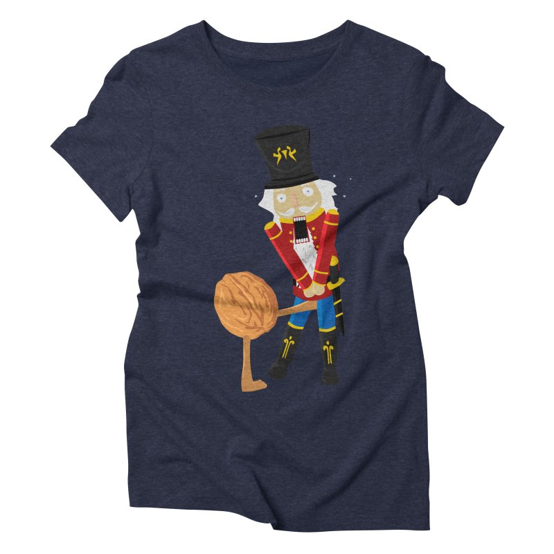 The Nutcracker Women's Triblend T-shirt by Alpha Ryan's Artist Shop