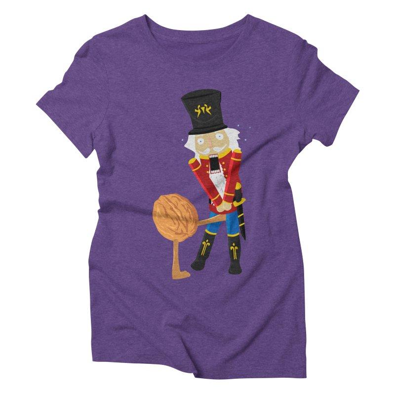 The Nutcracker Women's Triblend T-Shirt by Alpha Ryan's Artist Shop