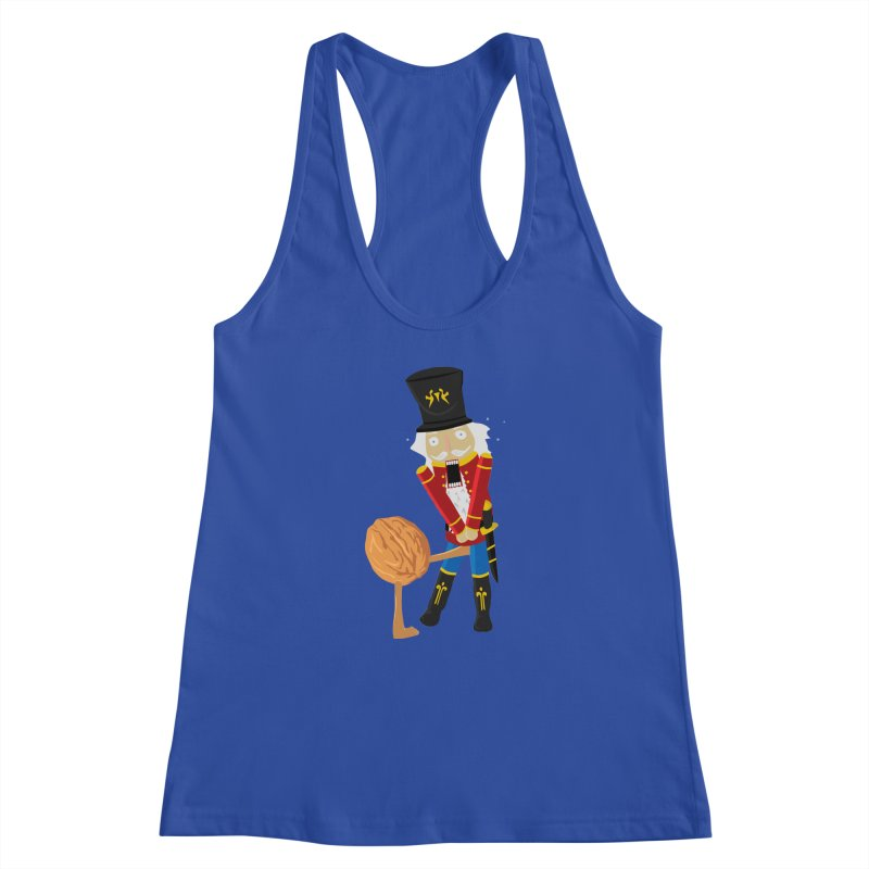 The Nutcracker Women's Racerback Tank by Alpha Ryan's Artist Shop