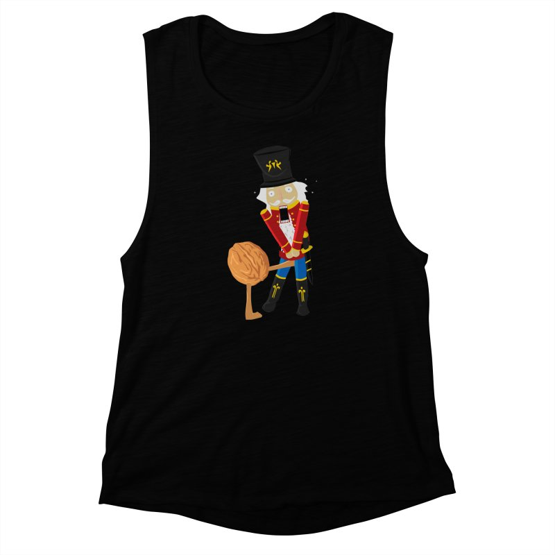 The Nutcracker Women's Muscle Tank by Alpha Ryan's Artist Shop