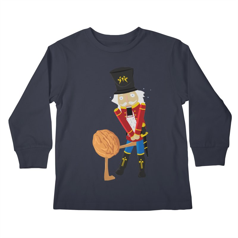 The Nutcracker Kids Longsleeve T-Shirt by Alpha Ryan's Artist Shop