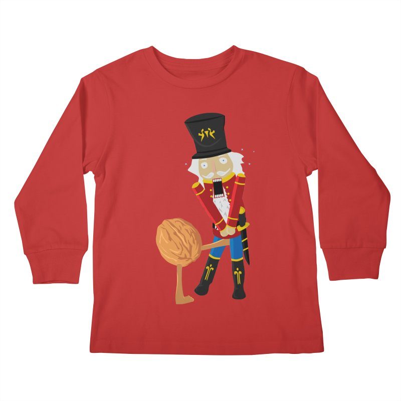 The Nutcracker Kids Longsleeve T-Shirt by Alpha Ryan's Artist Shop