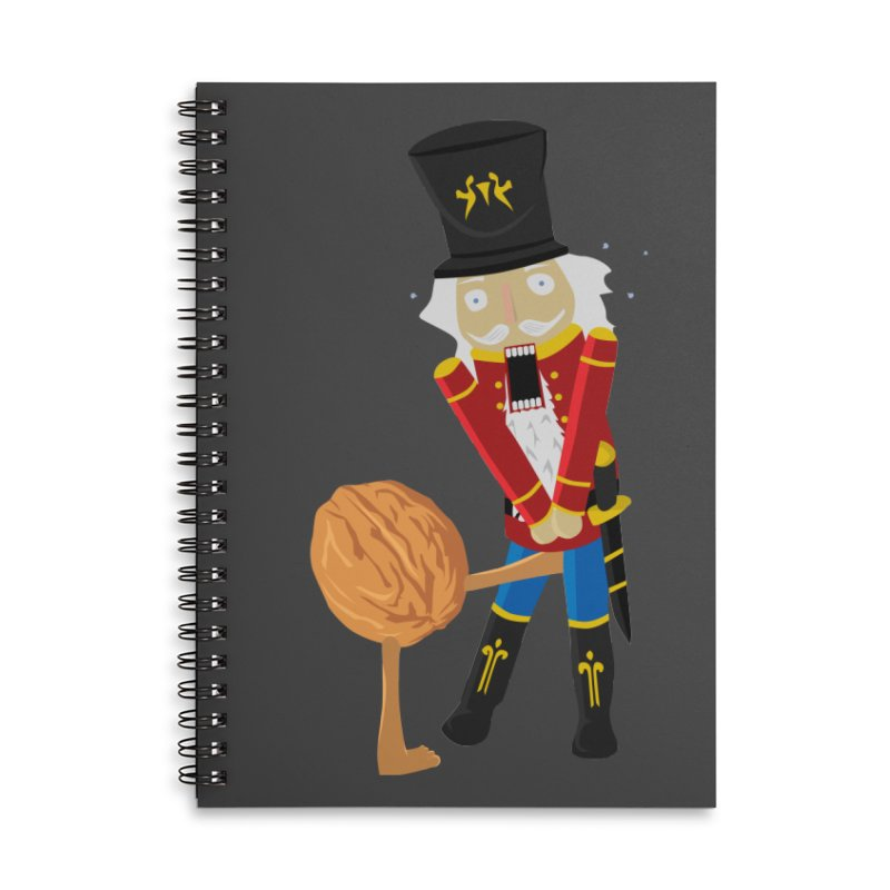 The Nutcracker Accessories Lined Spiral Notebook by Alpha Ryan's Artist Shop