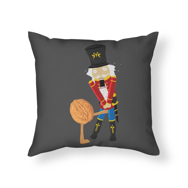 The Nutcracker Home Throw Pillow by Alpha Ryan's Artist Shop