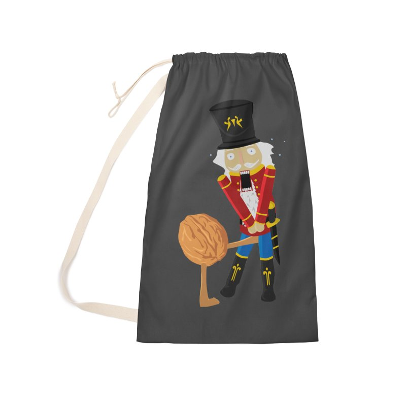 The Nutcracker Accessories Laundry Bag Bag by Alpha Ryan's Artist Shop