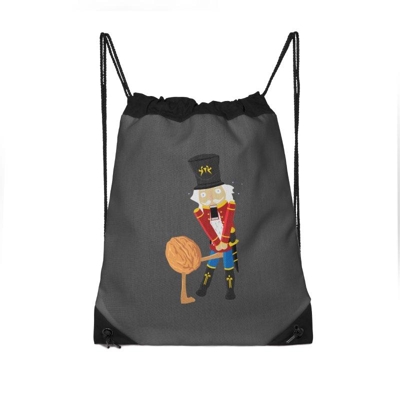The Nutcracker Accessories Drawstring Bag Bag by Alpha Ryan's Artist Shop
