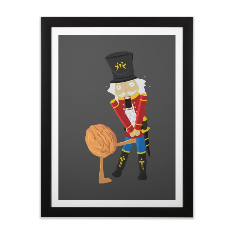 The Nutcracker Home Framed Fine Art Print by Alpha Ryan's Artist Shop