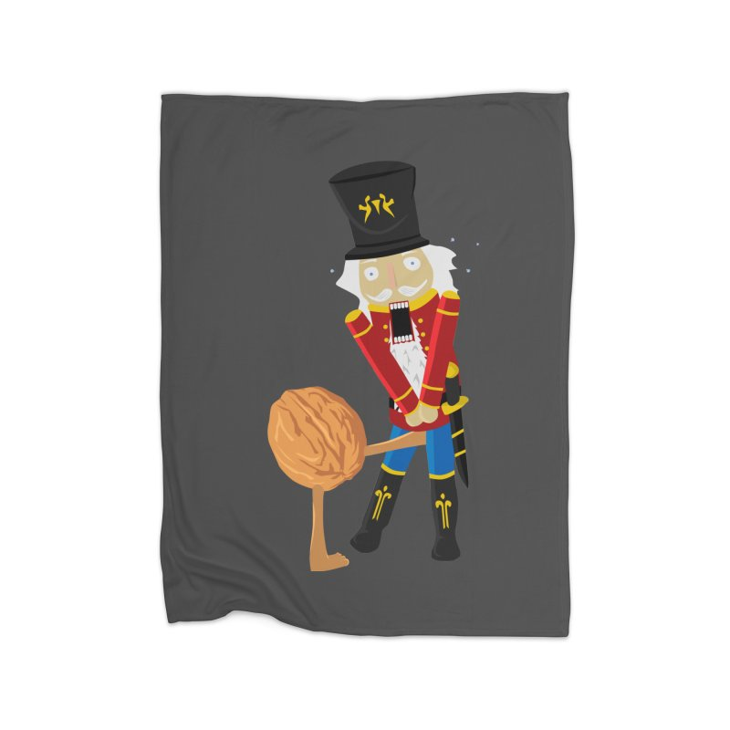 The Nutcracker Home Fleece Blanket Blanket by Alpha Ryan's Artist Shop