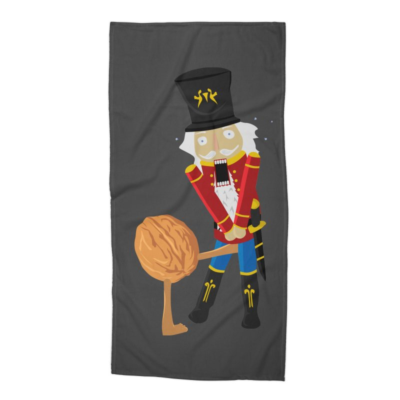The Nutcracker Accessories Beach Towel by Alpha Ryan's Artist Shop