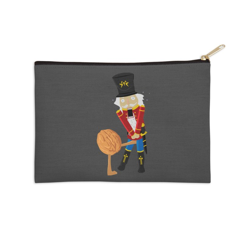 The Nutcracker Accessories Zip Pouch by Alpha Ryan's Artist Shop