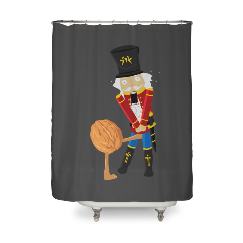 The Nutcracker Home Shower Curtain by Alpha Ryan's Artist Shop