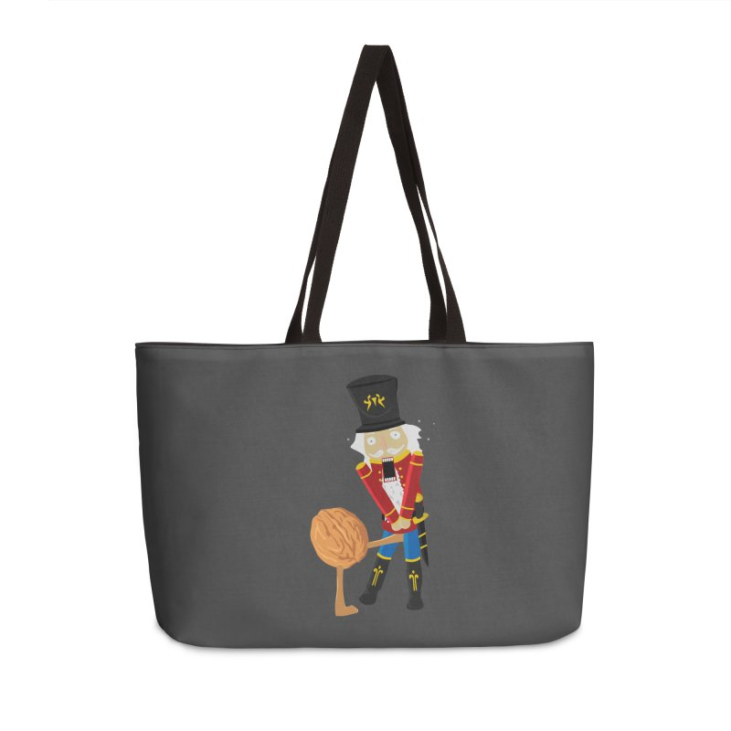 The Nutcracker Accessories Weekender Bag Bag by Alpha Ryan's Artist Shop