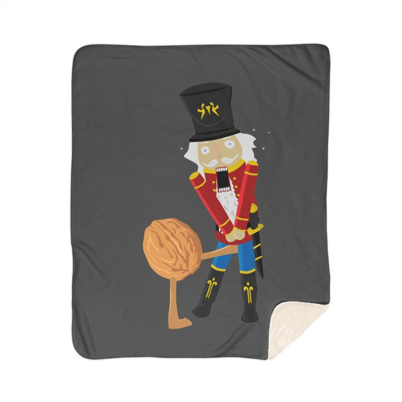 The Nutcracker Home Sherpa Blanket Blanket by Alpha Ryan's Artist Shop