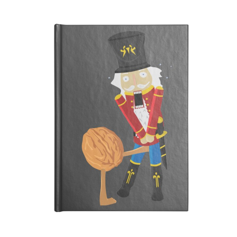 The Nutcracker Accessories Blank Journal Notebook by Alpha Ryan's Artist Shop